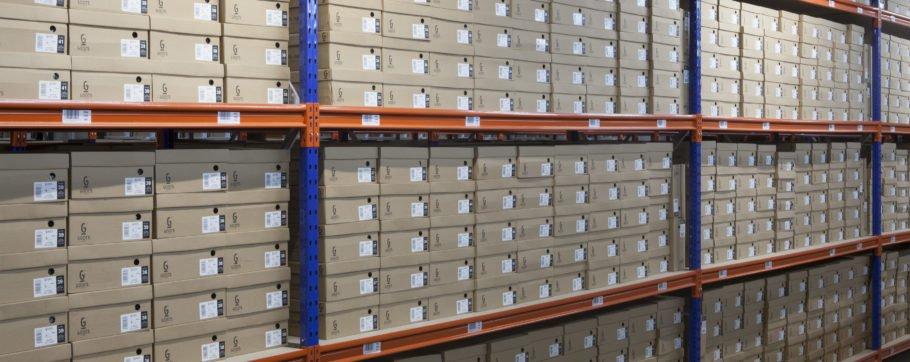 Long span shelving shelving systems