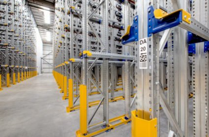 Drive-in racking labelling
