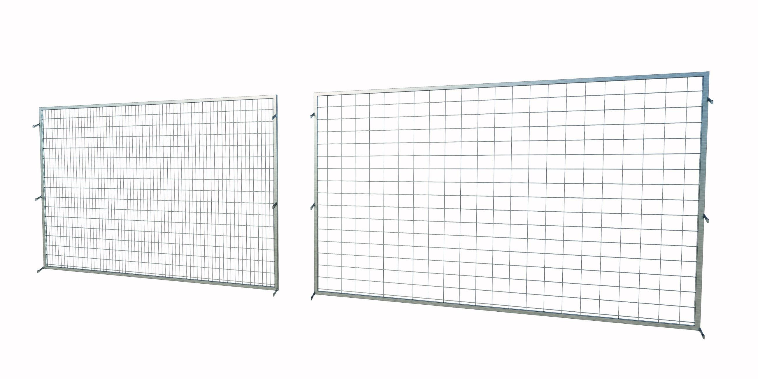 Palletstellingen gaaswand mesh fencing