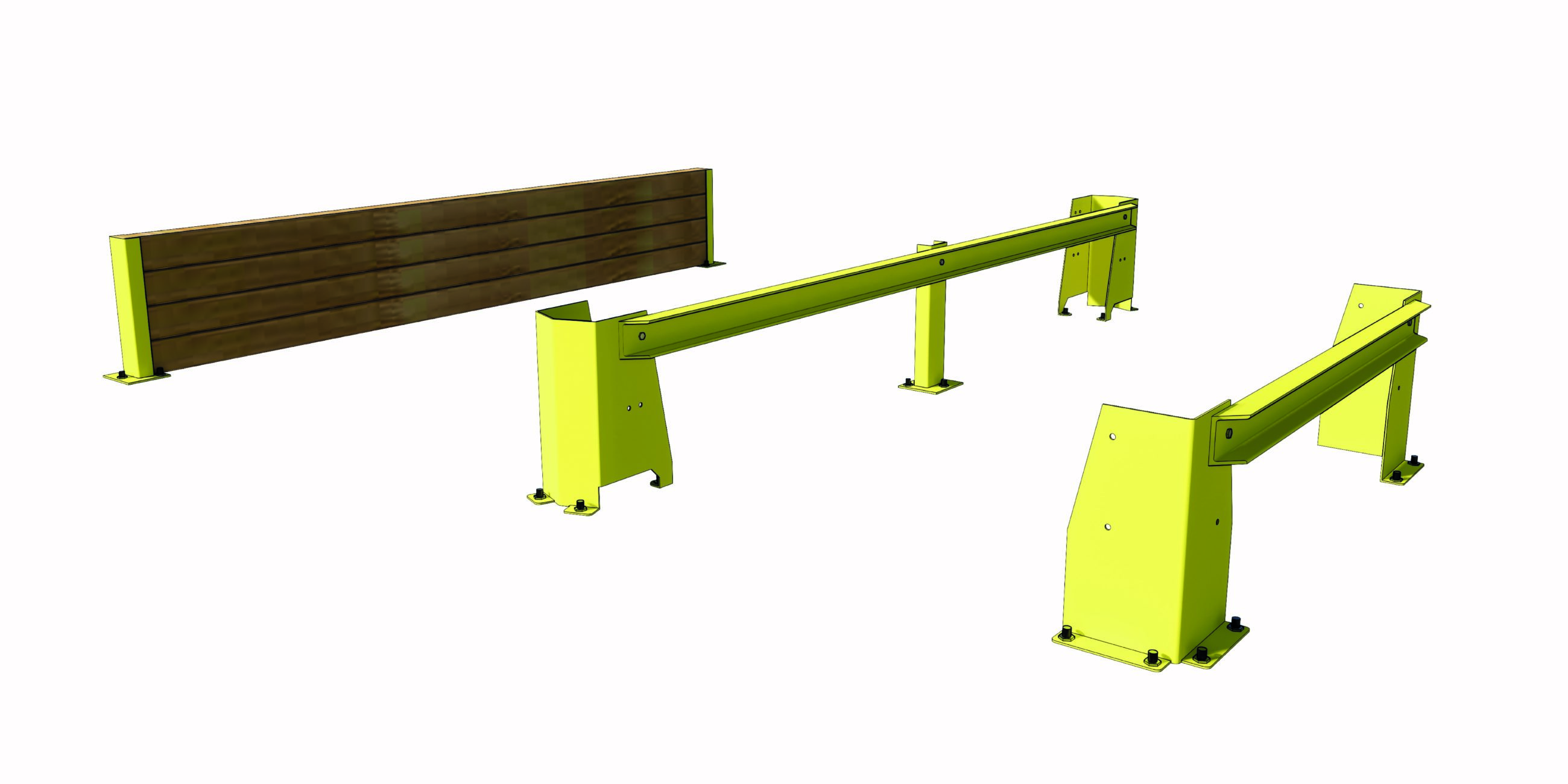 Palletstellingen laterale bescherming lateral protection